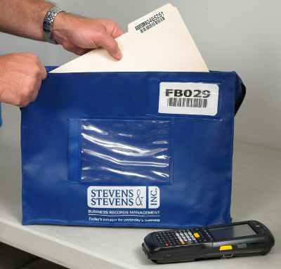 SSBRM HIPAA Compliant Medical Record Delivery Bag